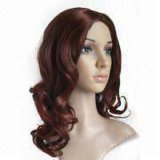 Fashion Synthetic Hair Full Lace Wig for Woman