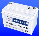 Batteries Lead Acid with Mf Battery Dry Charged Battery JIS60