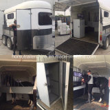 Comfortable Travel Horse Trailer/Horse Float Angel Load From China