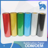 Free Sample Glitter Heat Transfer Vinyl Sheets for Tshirts