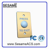 Golden Aluminum Alloy Panel Wire Drawingprocessing Door Exit Button (SB10G)