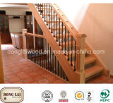 China Factory Wooden Stair Handrail