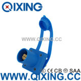 IEC60309 Large Current Blue Rhino Horn Socket