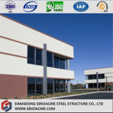 Modern Design Two Storey High Rise Steel Structure Prefab House