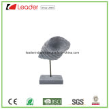 Polyresin Sea Snail Figurine with Stand for Home Decoration
