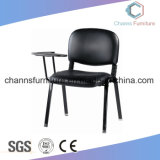 Comfortable Leather Furniture Office Training Chair with Writing Pad
