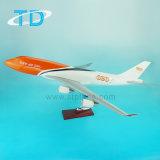 Resin Cargo Airplane B747-400 TNT Model