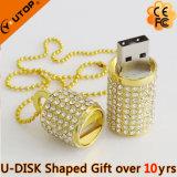 Flashy Beautiful Gift Diamond USB Flash Memory (YT-6272)