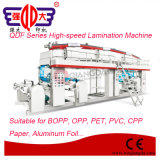 Qdf Series Photoelectric Error-Correction Aluminum Foil High-Speed Lamination Machinery