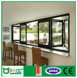 Australian Standard As2047 Double Glazed Aluminium Framed Folding Window (pnocbfw00156)