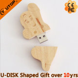 Hot Mario Wood USB Flash Stick for Sports Gift (YT-8139)