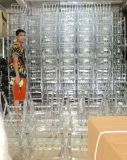 Cheap Wedding Crystal Acrylic Resin Transparent Wedding Chiavari Chair
