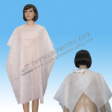 Nonwoven Disposable Customized Cutting Cape, Custom Printed Cutting Cape for Beauty Salon