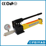 Hydraulic Hand Pump with Gauge Lightweight Hydraulic Hand Pump for Hydraulic Tools