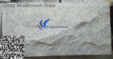 Customized Natural Grey Mushroom Granite Cladding