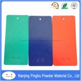 Red/Blue Powder Coating with Orange-Peel Texture