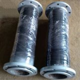 Ceramic Lined Rubber Hose with Flange
