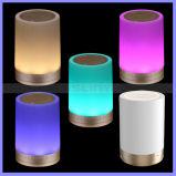 7 Colors Changering LED TF Aux Bluetooth Light LED Sense Speaker with Hook