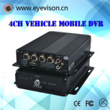 4CH Ahd 720p Mobile DVR Support 128GB SD Card Vehicle Mobile DVR 4G Options