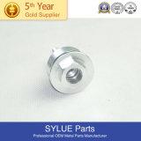 M8-1.25 Spl Hex Collar Nut C10200 Copper Nickel Finish Per Print