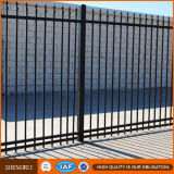 Galvanized Steel Picket Fence Ornamental Garden Fence