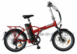 20inch Foldable Electric Bike with Burhsless Gear Motor 36V 250W T/Folding E-Bike (SY-E2006)