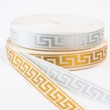 The Wired Great Wall Pattern Polyseter Ribbon for Garments