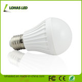 Energy Saving E27 7W Plastic LED Bulb Light