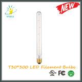 T30*300 Tubalar LED Filament Bulb Factory Direct Wholesale
