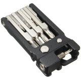 19 in 1 Mountain Bicycle Set Bike Multi Repair Tool Kit Socket Head Wrench Mountain Cycle Hex Key Screwdriver Tool