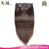 Full Head Virgin Brazilian Human Hair Premium 613 Blond Clip in Hair Extension