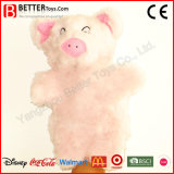 Plush Toy Stuffed Animal Pig Hand Puppet for Kids/Children