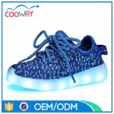 Classic Design USB Charging Yeezy Sports LED Shoes for Kids