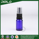 10ml Cobalt Glass Spray Bottles with Black Lotion Pump Sprayer