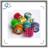 Colorful RFID Pigeon Foot Ring for Bird Management