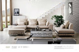 Modern Livingroom Furniture Soft Fabric Sectional Sofa (UL-NSC106)