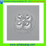 25 Degree PMMA X5 LED Lens with Flat Clear