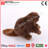 ASTM Plush Stuffed Animal Soft Beaver Toy for Promotion