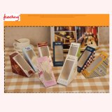 Custom Cheapest and Custom Sandwhich Paper Folding Gift Box with Clear Window