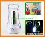 LED Rechargeable Hurricane Lamp with Solar Module