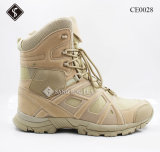 Leather Army Boots and Safety Boots with Steel Toe