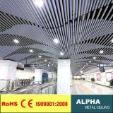 Aluminum False Suspended O Shaped Profile Baffle Ceiling