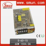 15VDC 4A Power Supply Switching 60W AC to DC