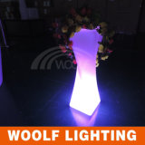 Outdoor LED Lighting Planter, Garden Glowing Planter, LED Flower Pot, Outdoor Lighting.