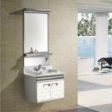 304 Stainless Steel Bathroom Corner Cabinet (T-9573)
