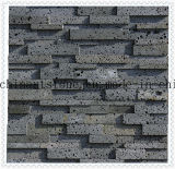 Lava Stone/ Hole Stone/ Travertine Grey Marble Tile for Wall