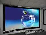 Curve Fixed Frame Projector Screens with Acoustically Transparent Fabric