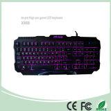 2016 Newest Computer Gaming Keyboard LED Backlight Keyboards (KB-1901EL)