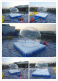 Inflatable Snow Globe with Mattress for Decoration