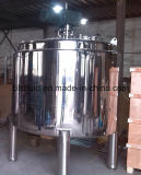 Stainless Steel Industrial Mixing Tank with Top Agitator